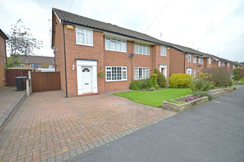 3 Bedrooms Semi Detached House for sale in Blenheim Road, Cheadle Hulme