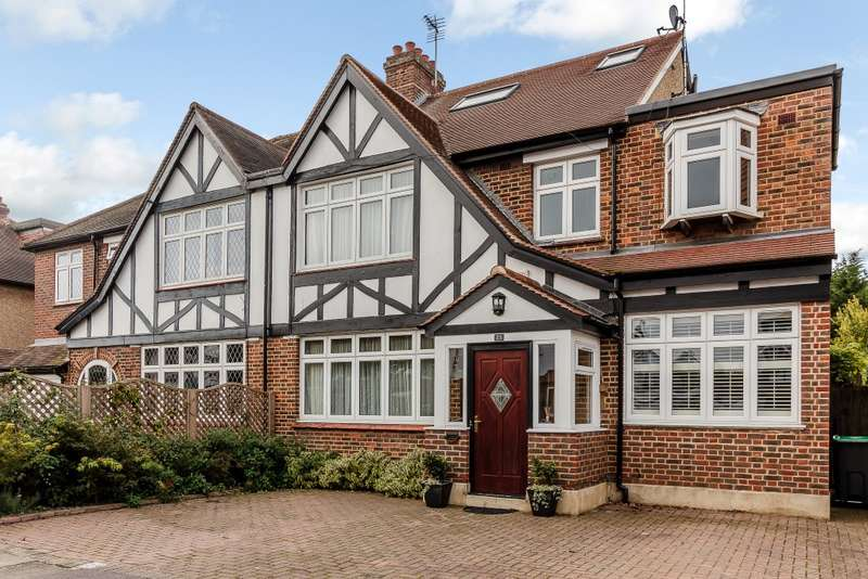 5 Bedrooms Semi Detached House for sale in Old Malden