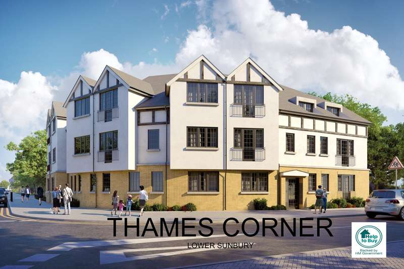 2 Bedrooms Apartment Flat for sale in Lower Sunbury
