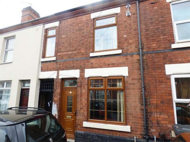 2 Bedrooms Terraced House for sale in Holcombe Street, Derby
