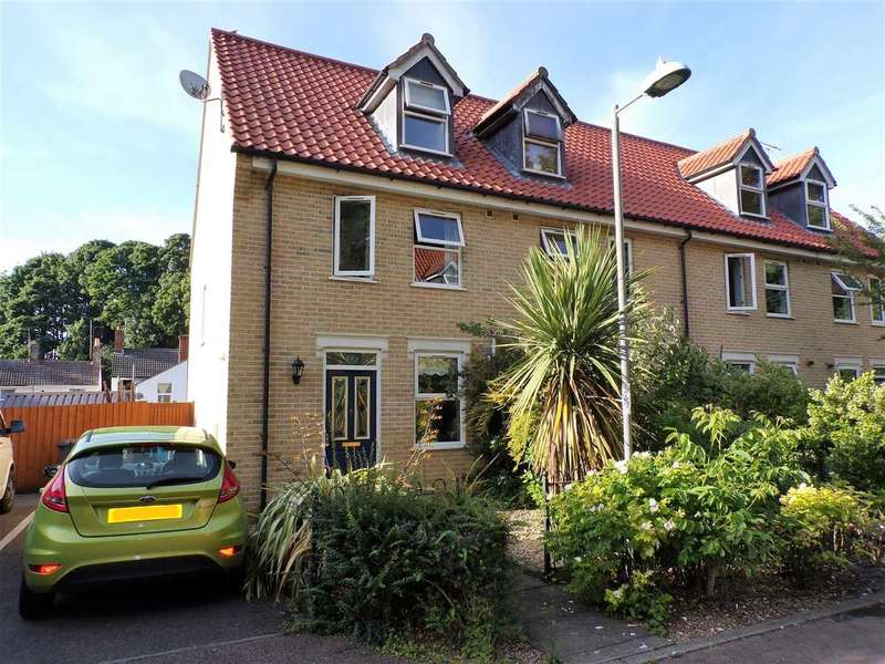 3 Bedrooms End Of Terrace House for sale in Masons Close, Ipswich