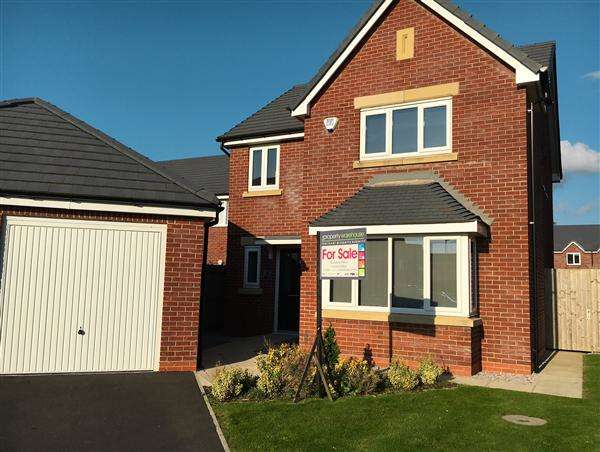 4 Bedrooms Detached House for sale in Truno Close, Poulton-Le-Fylde
