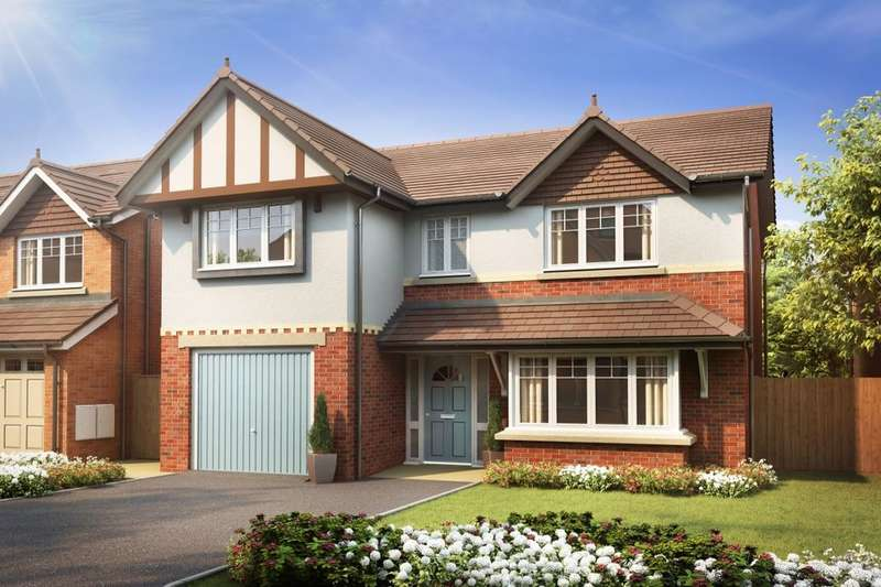 4 Bedrooms Detached House for sale in Greenhill Gate, Penwortham, Preston, PR1