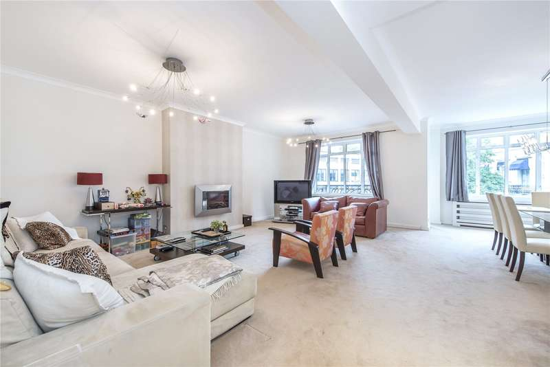 3 Bedrooms Flat for sale in Maitland Court, Lancaster Terrace, London, W2