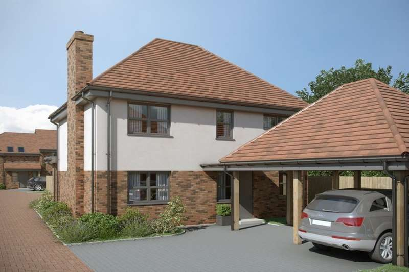 4 Bedrooms Detached House for sale in Dunkirk South Lane, Southbourne, Emsworth, PO10