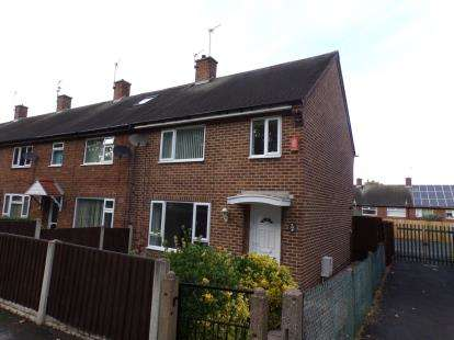 3 Bedrooms End Of Terrace House for sale in Langstrath Road, Clifton, Nottingham