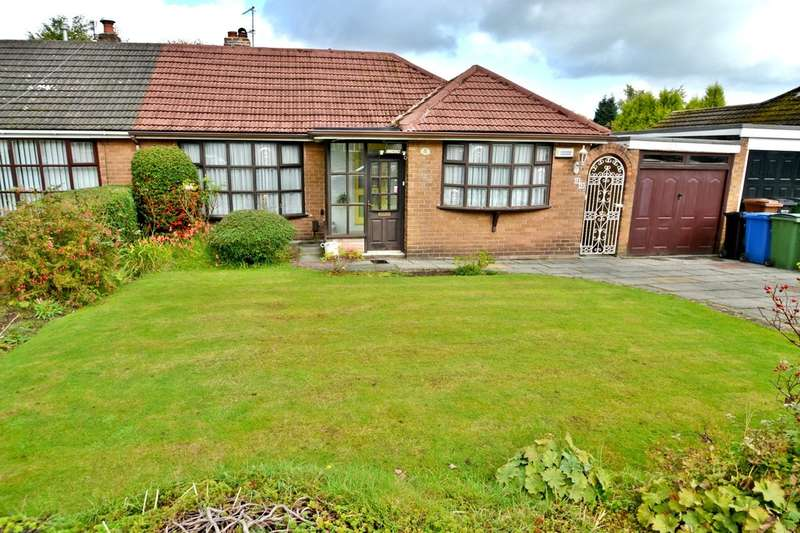 2 Bedrooms Semi Detached Bungalow for sale in Borrowdale Avenue, Gatley