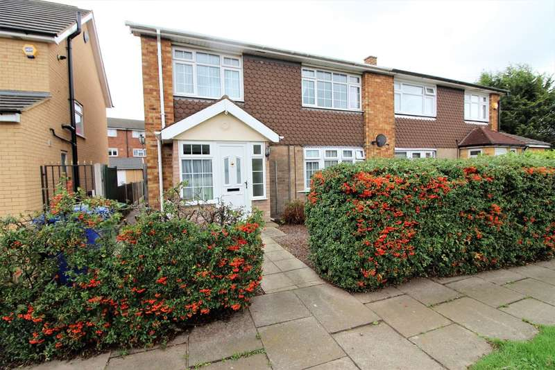3 Bedrooms Semi Detached House for sale in Errington Close, Chadwell St Mary