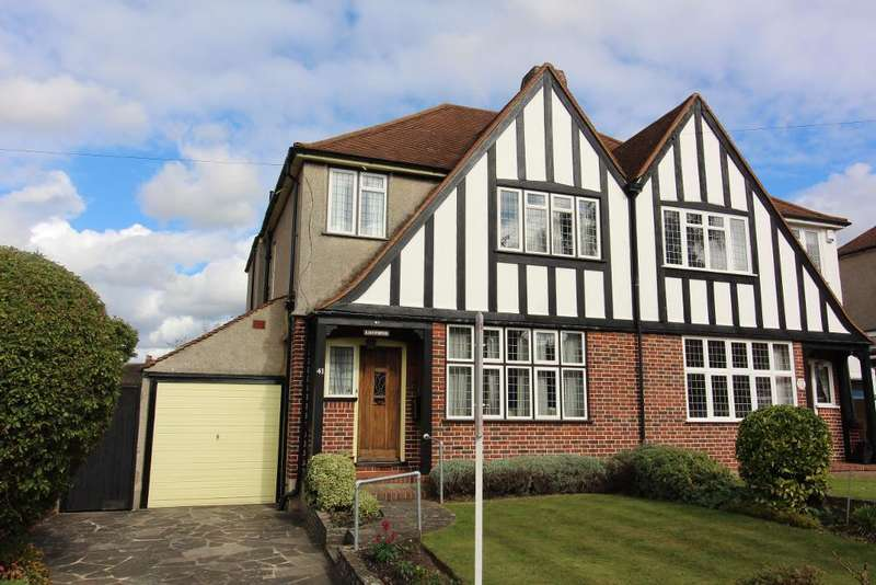 3 Bedrooms Semi Detached House for sale in Park Avenue, Orpington, Kent, BR6 9EQ