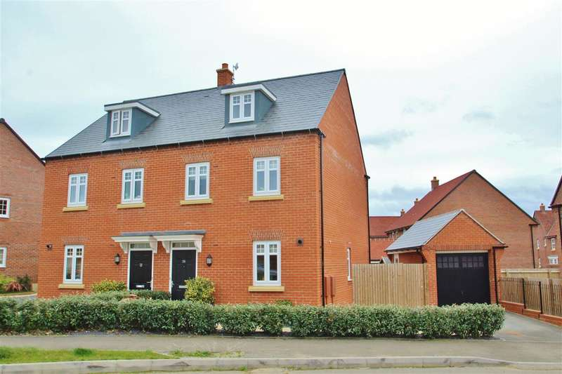 3 Bedrooms Semi Detached House for sale in Threads Lane, Buckingham