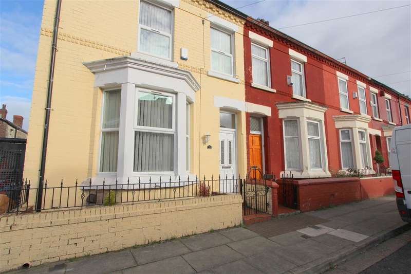 4 Bedrooms End Of Terrace House for sale in Southbank Road, Edge Hill, Fairfield, Liverpool
