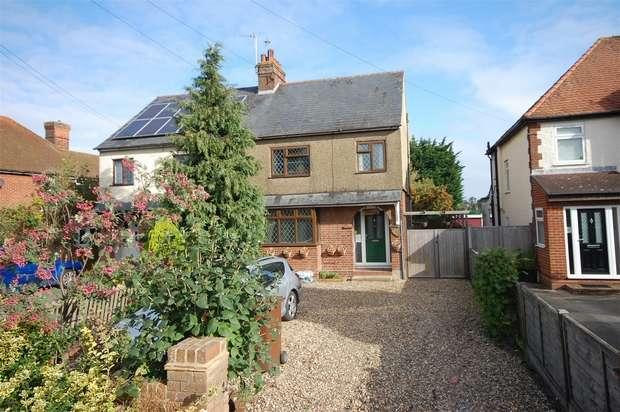 3 Bedrooms Semi Detached House for sale in Aston Clinton Road, Weston Turville, Buckinghamshire
