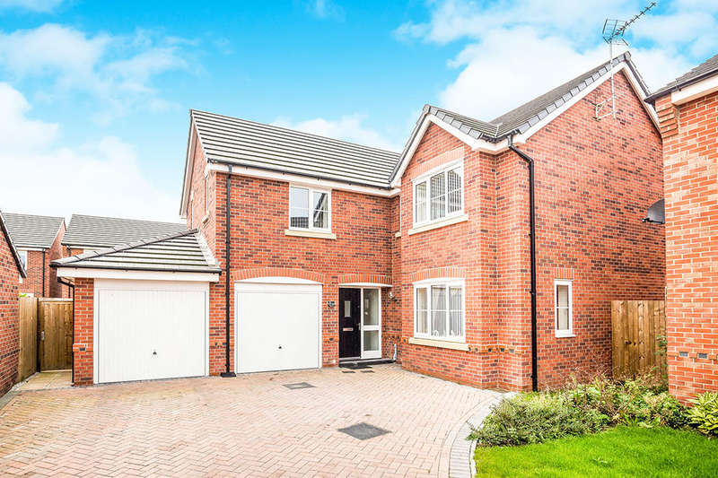 5 Bedrooms Detached House for sale in Beeby Way, Broughton, Chester, CH4