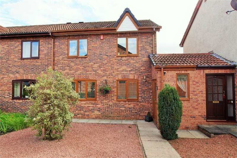 2 Bedrooms Terraced House for sale in CA3 0QL Turnberry Way, CARLISLE, Cumbria