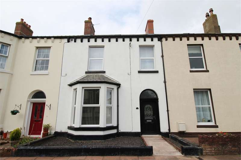 5 Bedrooms Terraced House for sale in CA7 4BY Caldew Street, Silloth, Wigton, Cumbria