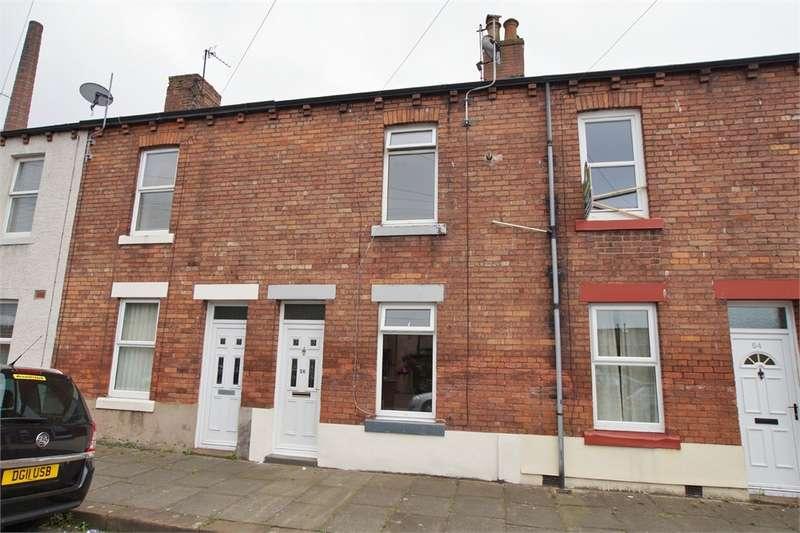 2 Bedrooms Terraced House for sale in CA2 5UU Morton Street, Caldewgate, Carlisle, Cumbria