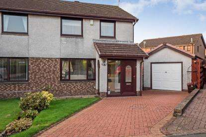 3 Bedrooms Semi Detached House for sale in Hart Wynd, Bannockburn