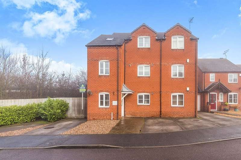 2 Bedrooms Flat for sale in Castle Croft, Castle Gresley, Swadlincote, DE11
