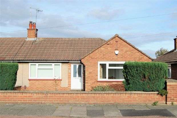 2 Bedrooms Semi Detached Bungalow for sale in Collingdale Road, The Headlands, Northampton NN3 2TS