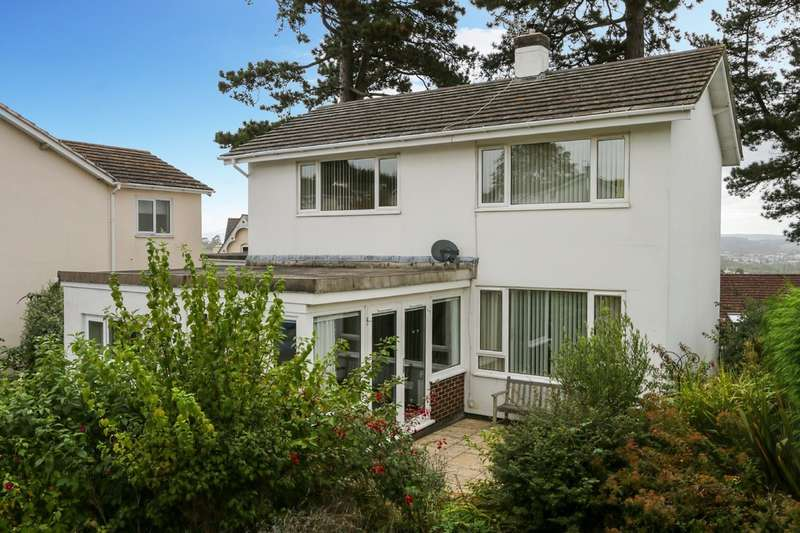 4 Bedrooms Detached House for sale in Courtenay Gardens, Newton Abbot