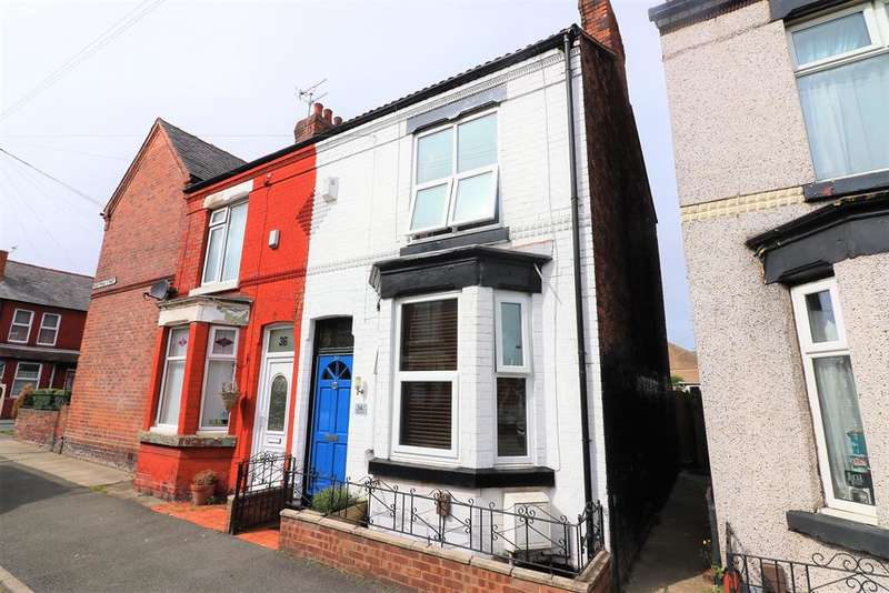 2 Bedrooms End Of Terrace House for sale in Brentwood Street, Wallasey, CH44 4BB