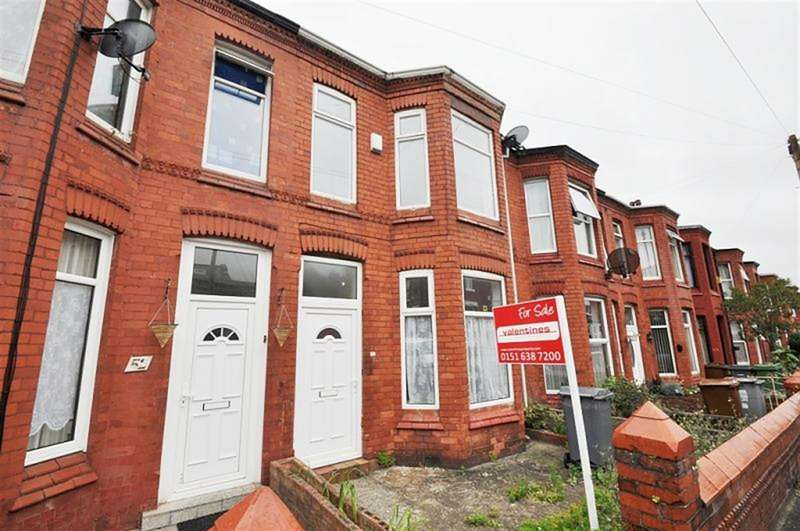 3 Bedrooms Terraced House for sale in Wright Street, Wallasey
