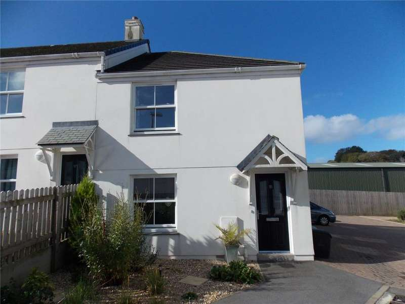 3 Bedrooms End Of Terrace House for sale in Wentworth Close, Southgate Street, Redruth