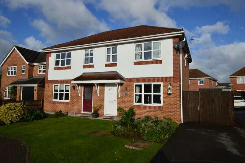 3 Bedrooms Semi Detached House for sale in Fairoak Close, Winsford, CW7