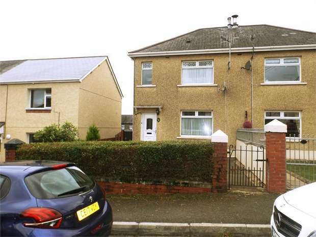 2 Bedrooms Semi Detached House for sale in Coronation Street, Bryn, Port Talbot, West Glamorgan