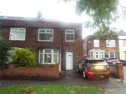 3 Bedrooms Semi Detached House for sale in Queens Drive, Stoneycroft, Liverpool, Merseyside, L13