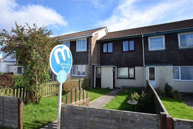 2 Bedrooms Terraced House for sale in Treberran Gardens, Tolvaddon, Camborne