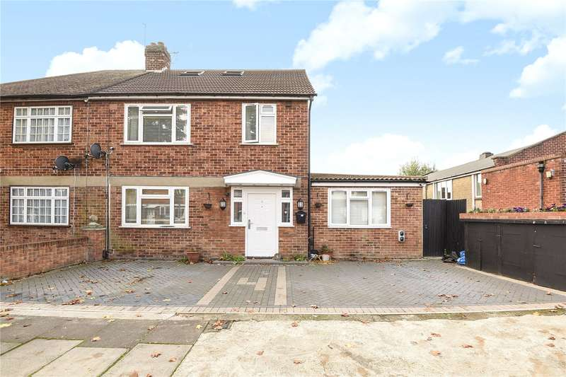 5 Bedrooms Semi Detached House for sale in Deane Avenue, Ruislip, Middlesex, HA4