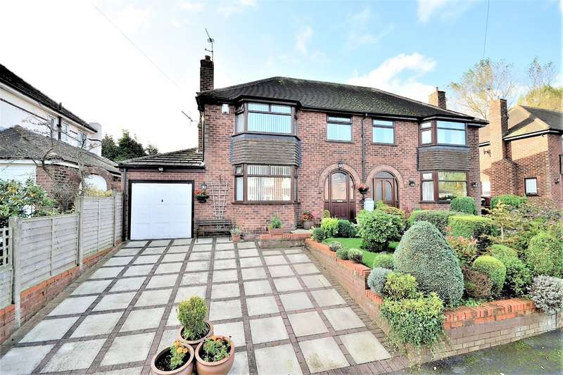 3 Bedrooms Semi Detached House for sale in Hollow Drive, Stockton Heath, Warrington