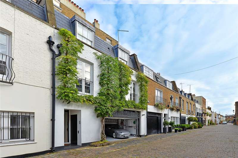 2 Bedrooms Mews House for sale in Hyde Park Gardens Mews, Bayswater, London, W2