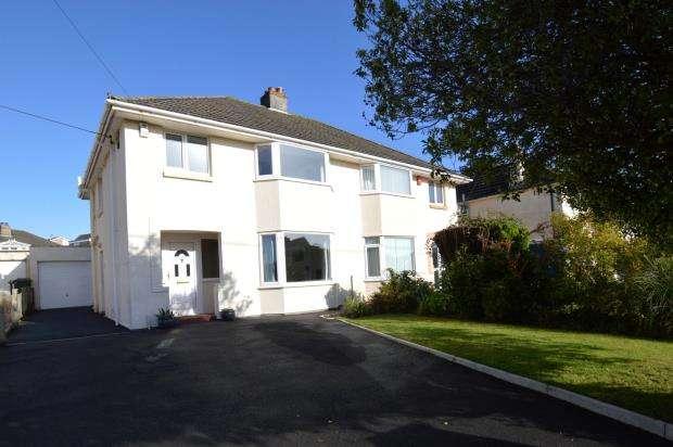 3 Bedrooms Semi Detached House for sale in Underlane, Plymstock, Plymouth, Devon