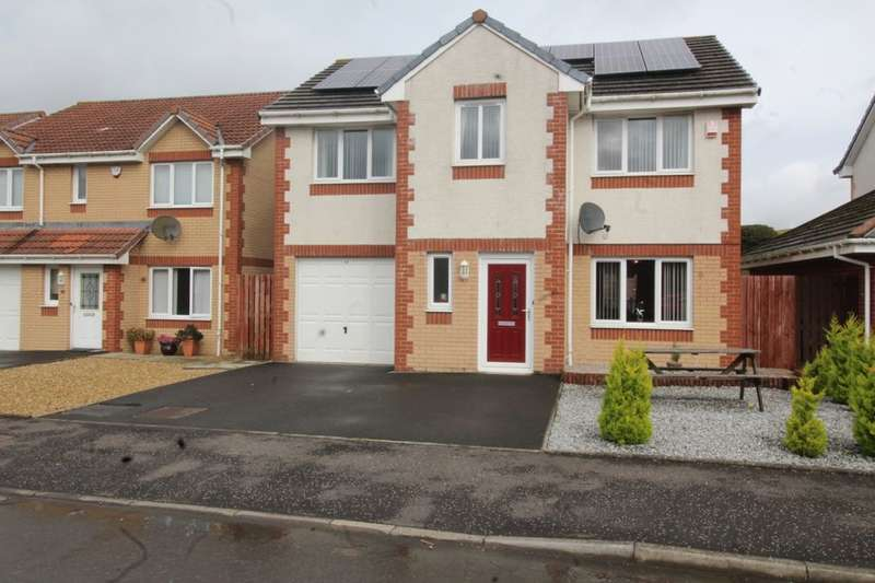 4 Bedrooms Detached House for sale in Allison Gardens, Blackridge, Bathgate, EH48