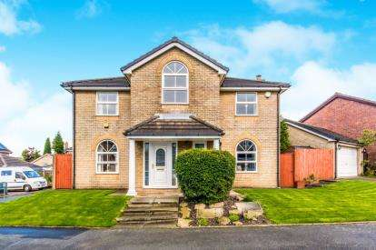 4 Bedrooms Detached House for sale in Rowanswood Drive, Hyde, Manchester, Greater Manchester