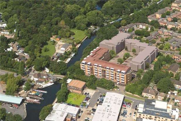 1 Bedroom Apartment Flat for sale in Aqua House, Packet Boat Lane,, Uxbridge,