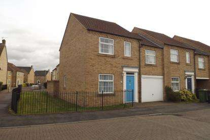 3 Bedrooms End Of Terrace House for sale in Chapman Way, Eynesbury, St. Neots, Cambridgeshire