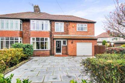 5 Bedrooms Semi Detached House for sale in Charmalue Avenue, Crosby, Liverpool, Merseyside, L23