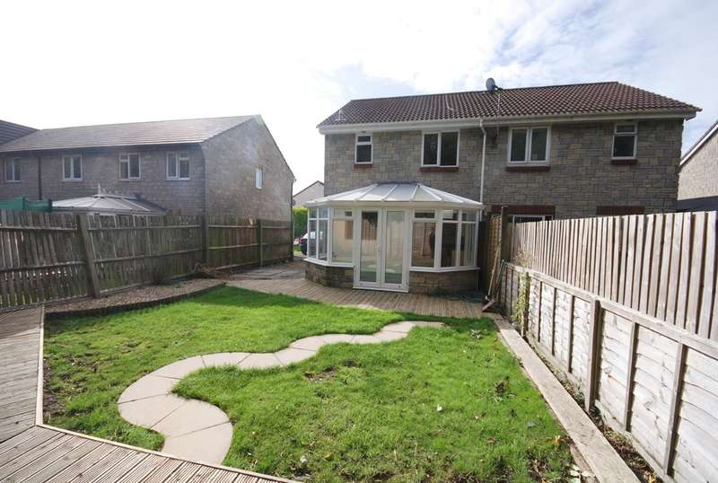 3 Bedrooms Semi Detached House for sale in Heol Y Fro, Llantwit Major, Vale Of Glamorgan, CF61 2SA