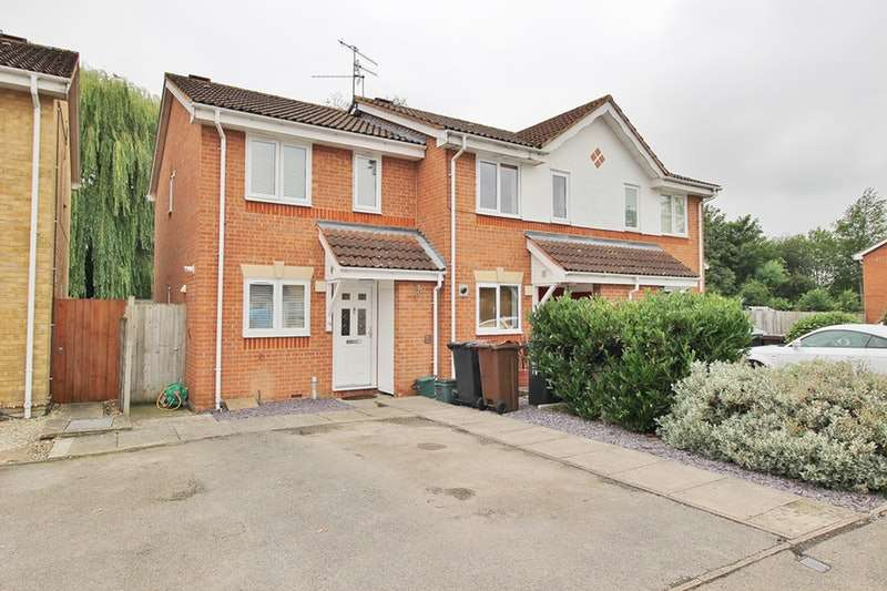 2 Bedrooms Semi Detached House for sale in Alsop close, London Colney, Hertfordshire, AL2