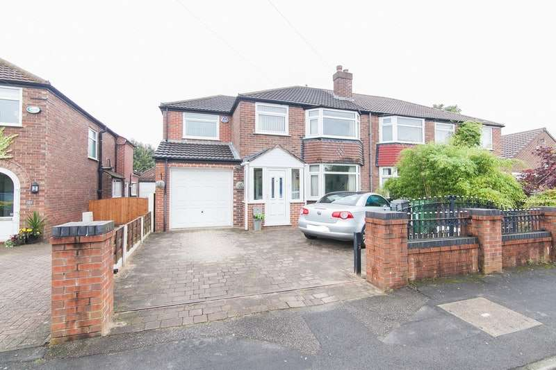 4 Bedrooms Semi Detached House for sale in Cromer Road, Sale, Greater Manchester, M33