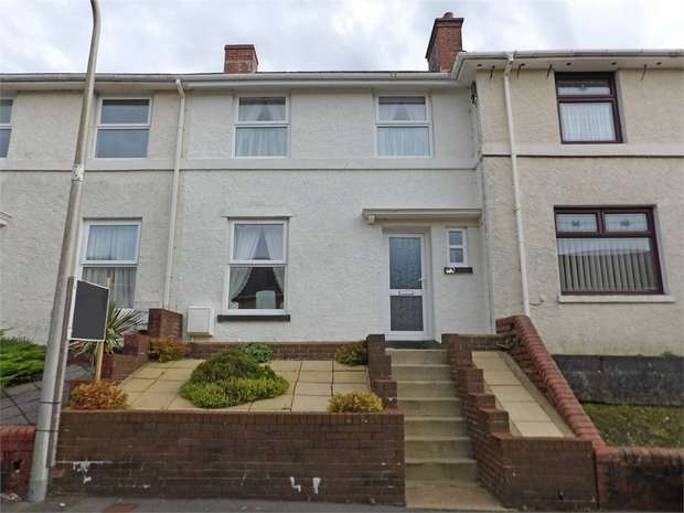 2 Bedrooms Terraced House for sale in Victoria Road, Ponthenry, Llanelli, Carmarthenshire
