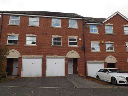 4 Bedrooms Terraced House for sale in Tungstone Way, Market Harborough, Leicestershire