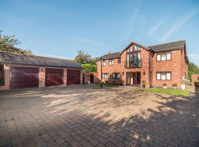 4 Bedrooms Detached House for sale in Hinckley Road, Leicester Forest East, Leicester, LE3 3PJ