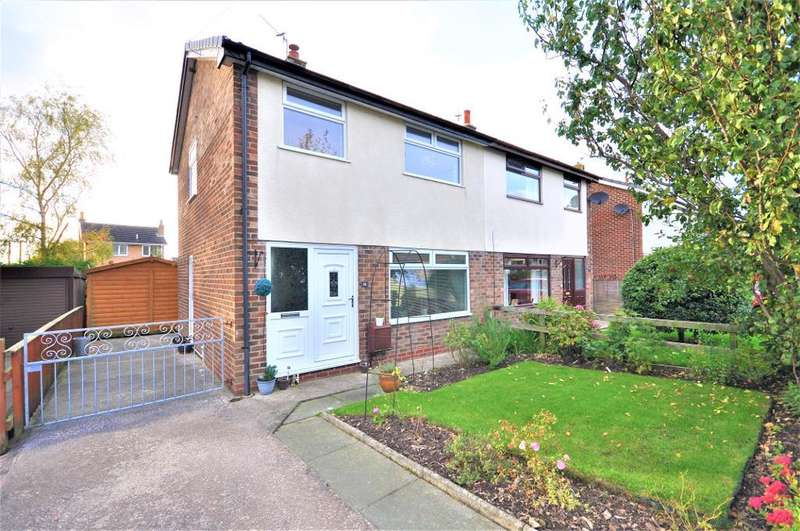 3 Bedrooms Semi Detached House for sale in Wilson Drive, Elswick, Preston, Lancashire, PR4 3XL