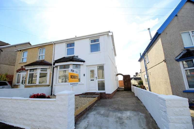 3 Bedrooms Semi Detached House for sale in Central Avenue, Cefn Fforest, BLACKWOOD, NP12