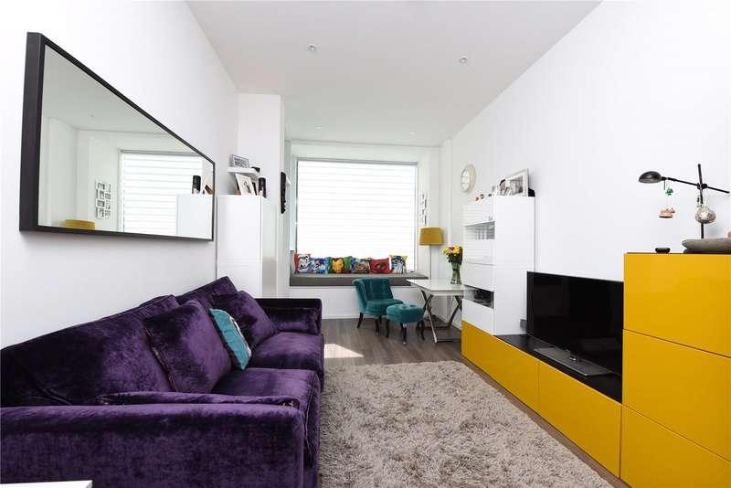 1 Bedroom Flat for sale in Beacon Tower, 1 Spectrum Way, London, SW18