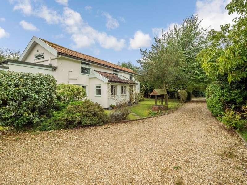 4 Bedrooms Detached House for sale in Chapel Road, Bunwell, Norfolk, NR16 1QR